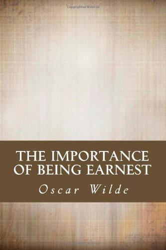 the importance of being earnest essay prompt Oscar wilde's purpose in writing this passage of the play the importance of being earnest is to reveal the idiocy of the emphasis on appearance and rank in victorian society, which in the case of this passage has led to a fabrication of identity in order to further the character's interests and allow them.